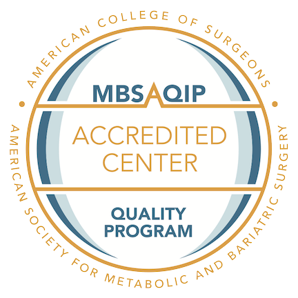 Our program is fully accredited and recognized as a Center of Excellence.