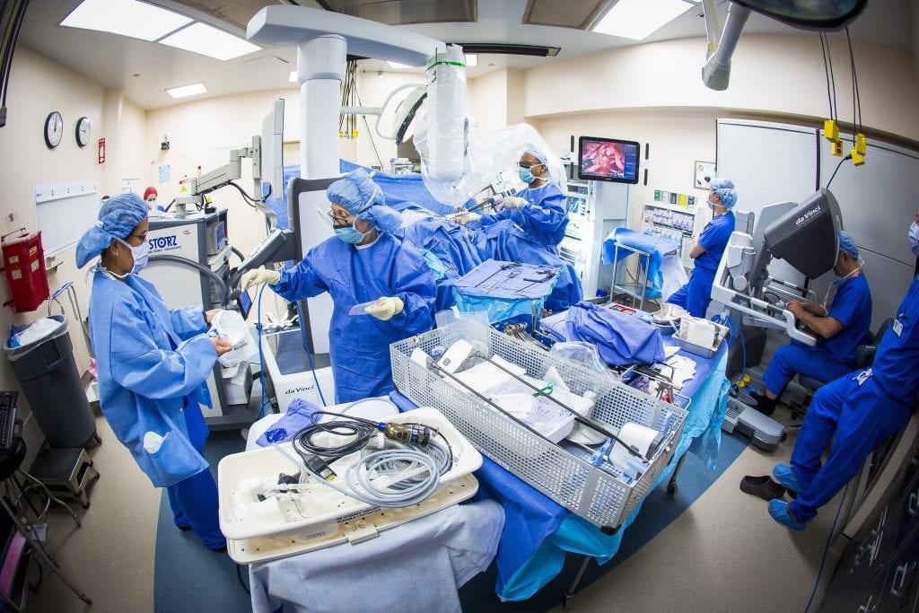 Single Port Robotic Surgery Hackensack University Medical Center